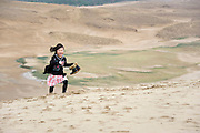 Visitors enjoy the sand dunes near Tottori city, Tottori Prefecture, Japan in June 2012. PHOTO: ROB GILHOOLYVisitors enjoy the sand dunes near Tottori city, Tottori Prefecture, Japan in June 2012. PHOTO: ROB GILHOOLY