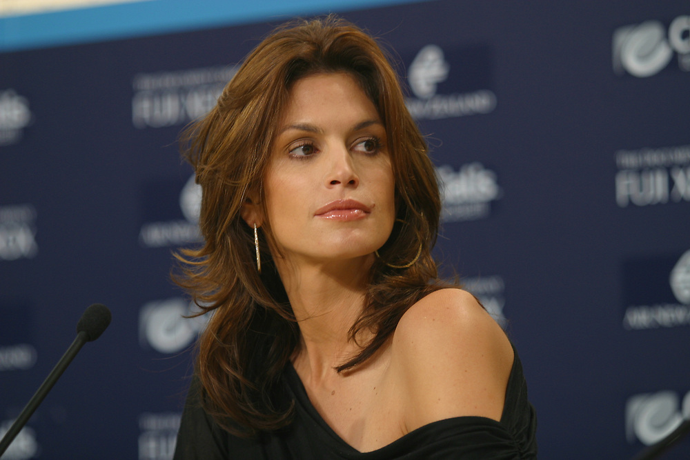Cindy Crawford, Omega, 2003 America's Cup, Valencia, Spain