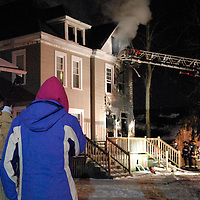 House Fire on Northwood - January 17, 2011
