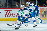 REGINA, SK - MAY 21: Tanner Nagel #25 of Swift Current Broncos skates against the Hamilton Bulldogs at the Brandt Centre on May 21, 2018 in Regina, Canada. (Photo by Marissa Baecker/CHL Images)