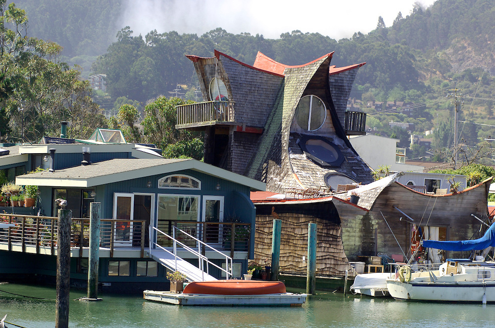House Boats, Sausalito, California, United States of America