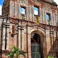 Iglesia Santo Domingo in Casco Viejo, Panama City, Panama <br />
