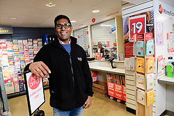 Business owner Siva Thievanayagam, who runs the Post Office branch based in the Nisa Local store in Old Fletton, Peterborough.  Mr Thievanayagam uses his experience and imagination to achieve good retail sales.<br /> <br /> Picture: Chris Vaughan Photography<br /> Date: January 18, 2018