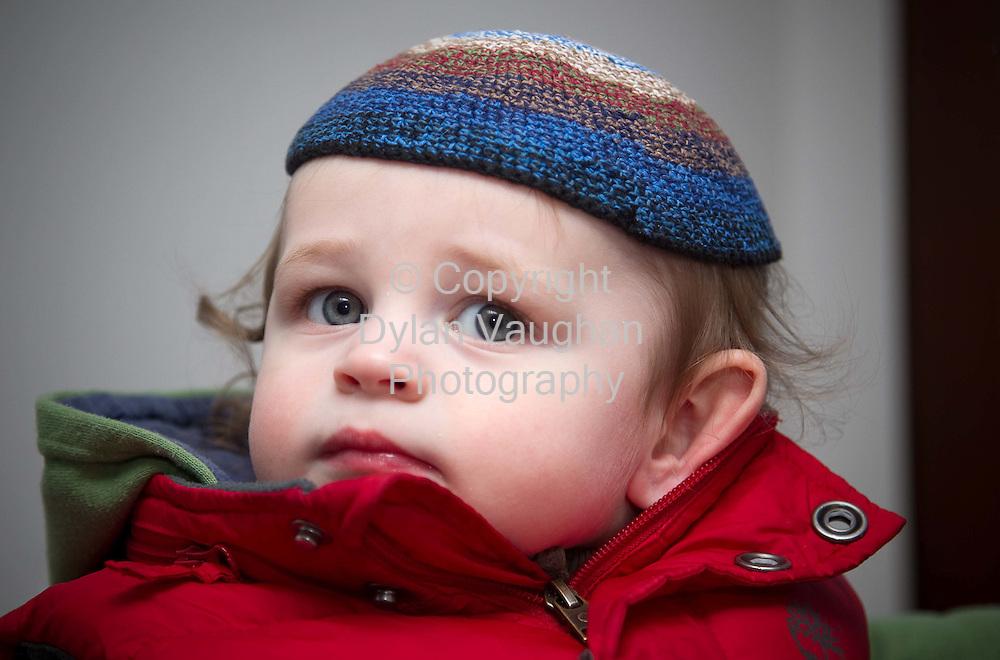 21/2/2010.Dan Nolan wearing my Kipa in Maudlin Court.Picture Dylan Vaughan..