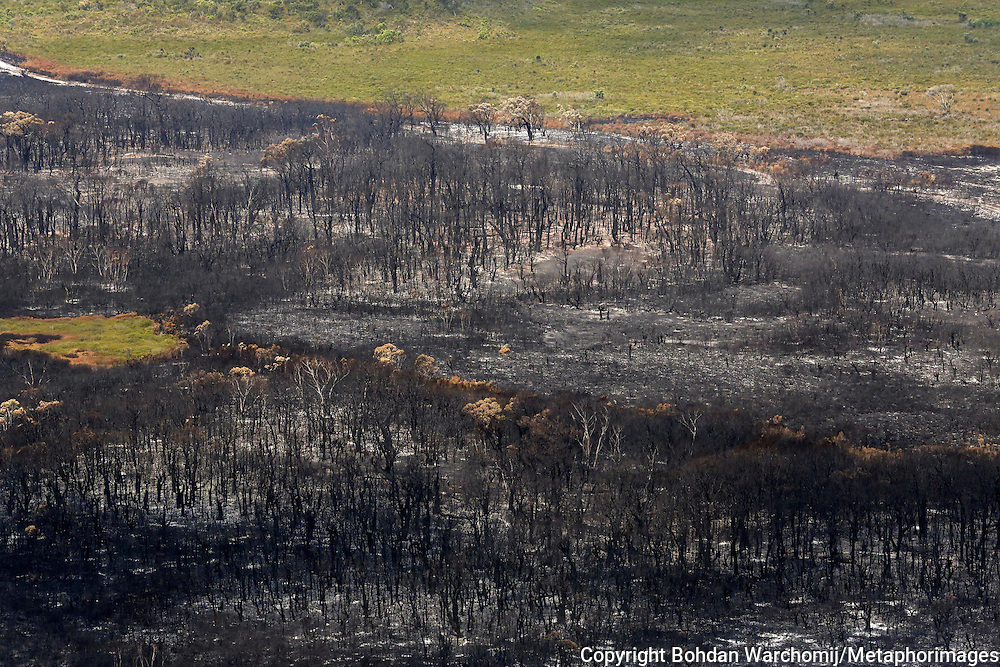 West Australia's biggest bushfire centred on the town of Northcliffe and burnt through nearly 85,000 hectares and prompted questions about the role of prescribed burning in the state.<br /> Incident controller Greg Mair told a packed community meeting in the nearby town of Pemberton that Northcliffe &quot;was not out of the woods yet&quot; but Windy Harbour was &quot;quite safe&quot;.<br /> He said favourable weather conditions and work done by firefighters had made a huge difference.<br /> Authorities had feared the fire would destroy Northcliffe, which had been declared indefensible, but managed to prevent it from doing so.