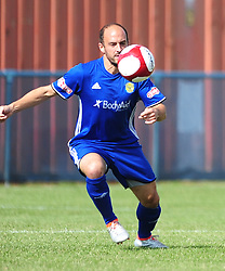 DAVID COBB PETERBOROUGH SPORTS MOREMANPeterborough Sports v Stafford Rangers FA Cup 1st Qualyfying Round Saturday 2nd September 2017.<br /> Score 3-4 Phot:Mike Capps