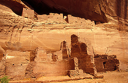 "Canyon de Chelly National Monument:  ""White House in Between"" is the name of this Anasazi cliff dwelling."