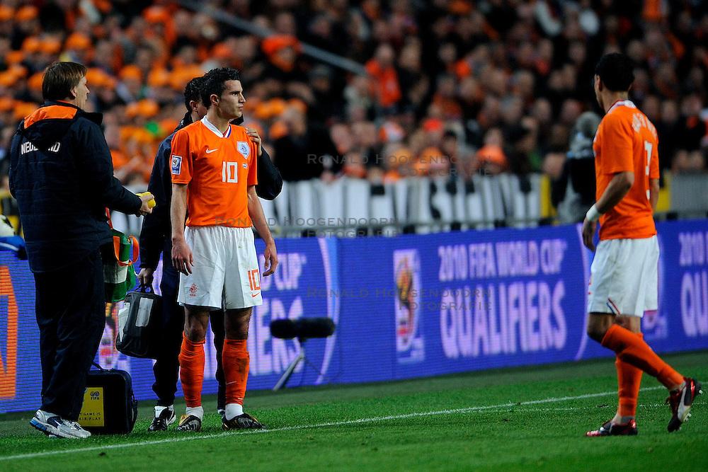 28-03-2009 VOETBAL: WK KWALIFICATIE NEDERLAND - SCHOTLAND: AMSTERDAM<br /> Robin van Persie<br /> &copy;2009-WWW.FOTOHOOGENDOORN.NL