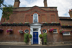 © London News pictures...  01/07/2015. Harmondsworth, UK. Harmondsworth Hall in the village of Harmondsworth in West London, a grade II listed building which is due to be demolished if plans go ahead for the third runway at Heathrow . Harmondsworth is due to be demolished to make way for a third runway at Heathrow Airport if plans go ahead. The airports commission today (Weds) gave it's backing for the £18.6bn plan for a third runway at Heathrow. Photo credit: Ben Cawthra/LNP