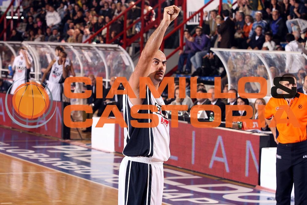 DESCRIZIONE : Napoli Eurolega 2006-07 Eldo Napoli Ulker Istanbul <br />GIOCATORE : Morena<br />SQUADRA : Eldo Napoli<br />EVENTO : Eurolega 2006-2007 <br />GARA : Eldo Napoli Ulker Istanbul<br />DATA : 30/11/2006 <br />CATEGORIA : Esultanza<br />SPORT : Pallacanestro <br />AUTORE : Agenzia Ciamillo-Castoria/G.Ciamillo