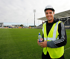 Christchurch-Rugby, Dan Carter kicks first goal at new stadium
