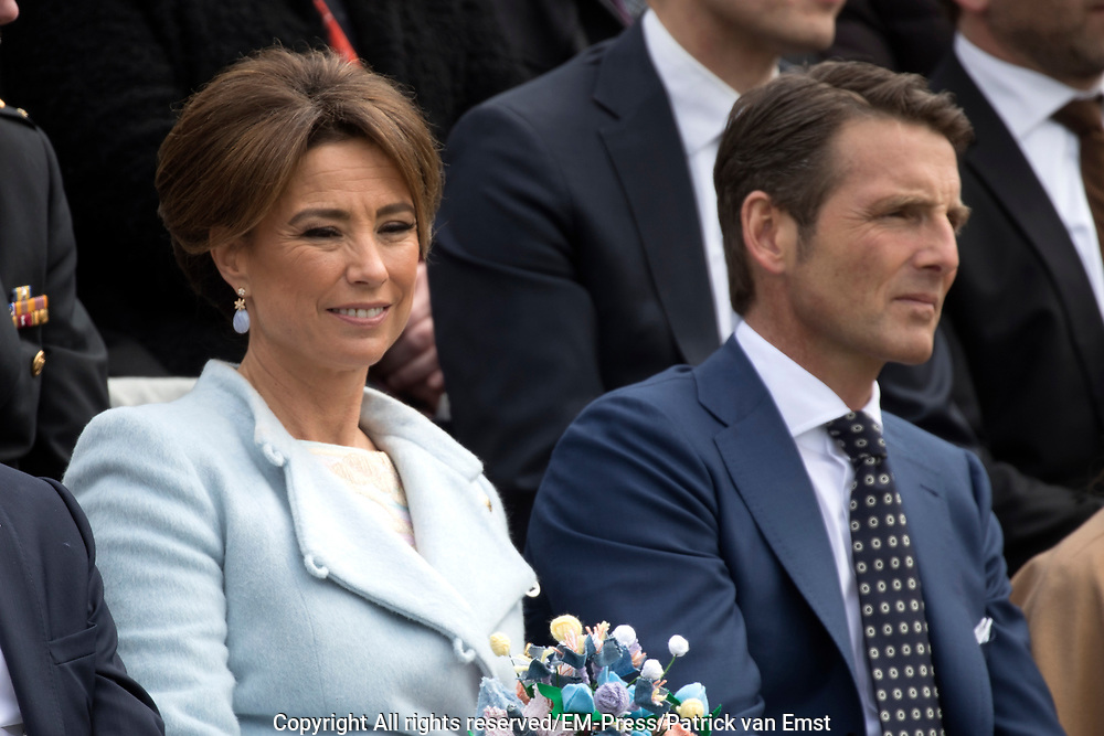Koningsdag 2017 in Tilburg / Kingsday 2017 in Tilburg<br /> <br /> Op de foto / On the photo: Prins Maurits en prinses Marilene / Prince Maurits en Princess Marilene
