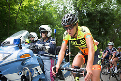 Janneke Ensing (NED) of Ale-Cipollini Cycling Team cools down after Stage 2 of the Giro Rosa - a 122.2 km road race, between Zoppola and Montereale Valcellina on July 1, 2017, in Pordenone, Italy. (Photo by Balint Hamvas/Velofocus.com)