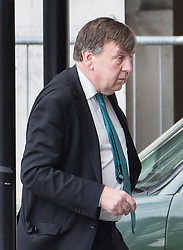 © Licensed to London News Pictures. 27/03/2019. London, UK. John Whittingdale is seen in Parliament after prime minister's questions. MPs will hold a series of indicative votes on different Brexit options this evening. Photo credit: Peter Macdiarmid/LNP