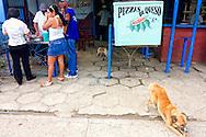 Pizza stand in Ciro Redondo, Ciego de Avila, Cuba.