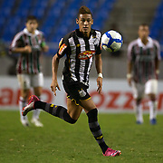Young Brazilian player Neymar, in action for Santos during the Fluminense V Santos, Futebol Brasileirao  League match in Rio de Janeiro, Santos won the match 3-0. Rio de Janeiro Brazil. 6th October 2010. Photo Tim Clayton.