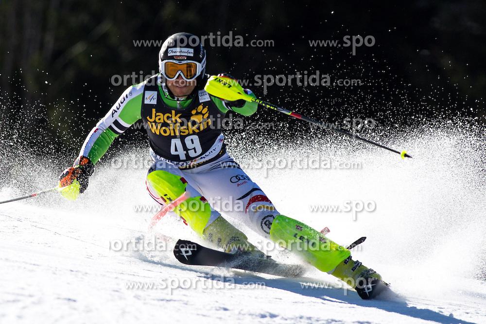 SCHMIDPhilipp of Germany during the 1st Run of Men's Slalom - Pokal Vitranc 2014 of FIS Alpine Ski World Cup 2013/2014, on March 9, 2014 in Vitranc, Kranjska Gora, Slovenia. Photo by Matic Klansek Velej / Sportida