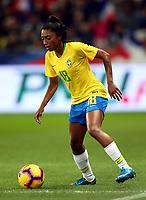 International Women's Friendly Matchs 2018 / <br /> France v Brazil 3-1 ( Allianz Riviera Stadium - Nice,France ) - <br /> Kerolin Ferraz of Brazil