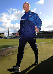 Yeovil Town's Coach Darren Way - Photo mandatory by-line: Harry Trump/JMP - Mobile: 07966 386802 - 21/02/15 - SPORT - Football - Sky Bet League One - Yeovil Town v Gillingham - Huish Park, Yeovil, England.