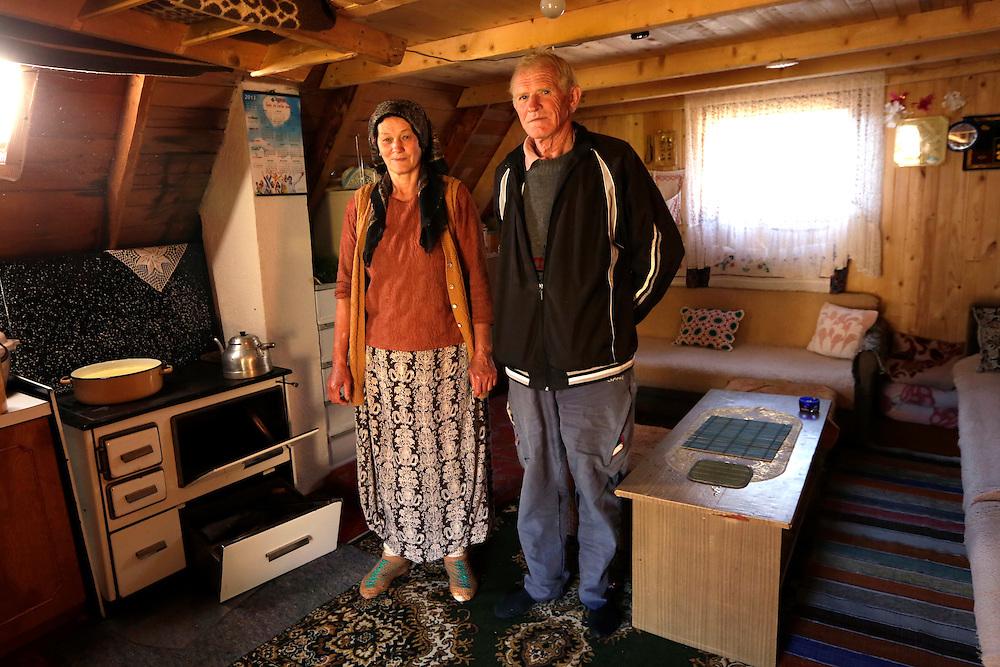 Home of Hanifa and Rasim Zuka,  Prokosko Lake, Bosnia and Herzegovina.