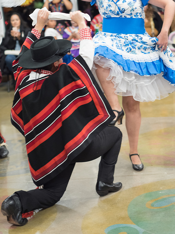 United States, Washington, Seattle, Dias de los Muertos (Day of the Dead) festival