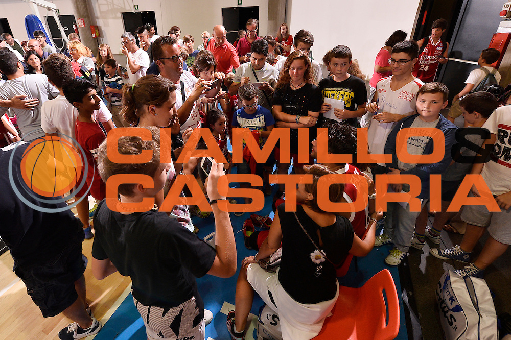 Bruno Cerella <br /> EA7 Emporio Armani Olimpia Milano - Legnano Knights <br /> Lega Basket Serie A 2016/2017<br /> Bormio 28/08/2016<br /> Foto Ciamillo-Castoria