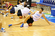 Trieste, 08/08/2012<br /> Baslet, Nazionale Italiana Maschile Senior<br /> Allenamento<br /> Nella foto: angelo gigli<br /> Foto Ciamillo
