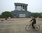 Ho Chi Minh Mausoleum.