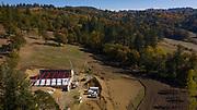 St. Innocent winery construction, Willamette Valley, Oregon