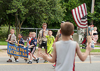 Laconia's 4th of July parade.  Karen Bobotas for the Laconia Daily Sun