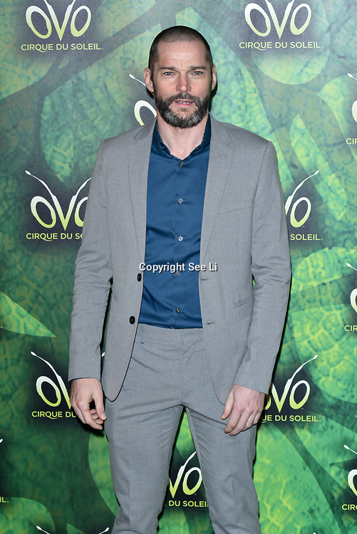 London, England, UK. 10th January 2018. Fred Sirieix arrives at Cirque du Soleil OVO - UK premiere at Royal Albert Hall.
