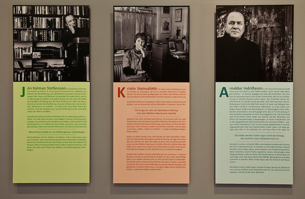 Portraits of Contemporary Icelandic Authors.<br />