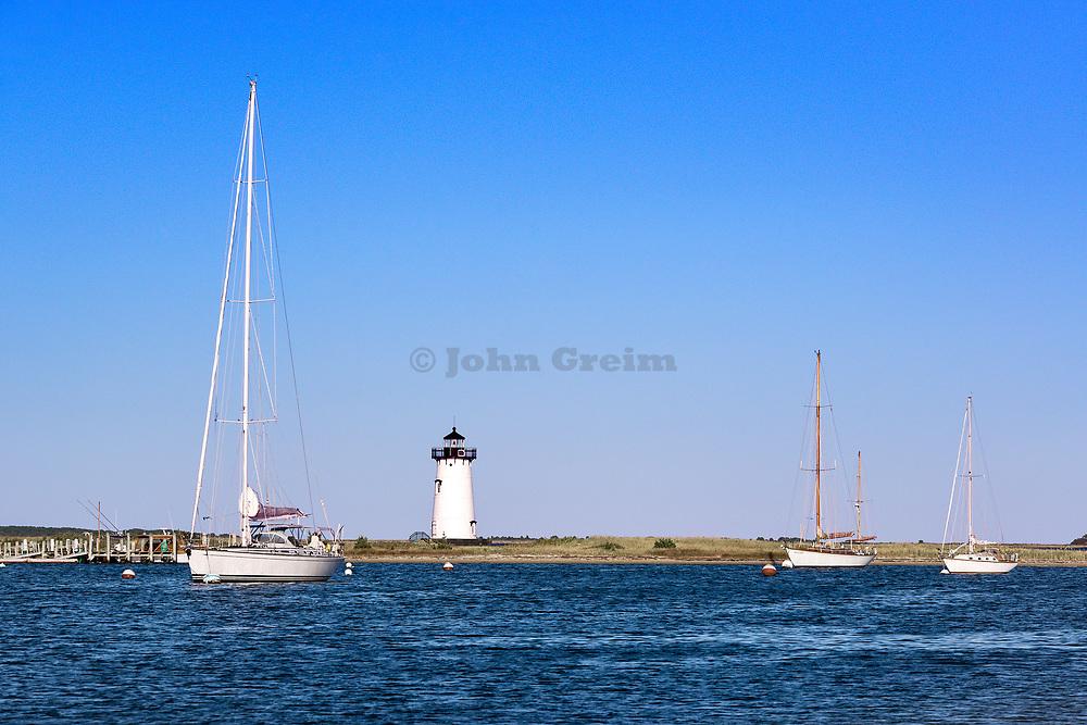 Edgartown Lighthouse, Martha's Vineyard, Massachusetts, USA.