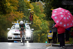 Tiffany Keep (RSA) at UCI Road World Championships 2019 Elite Women's TT a 30.3 km individual time trial from Ripon to Harrogate, United Kingdom on September 24, 2019. Photo by Sean Robinson/velofocus.com