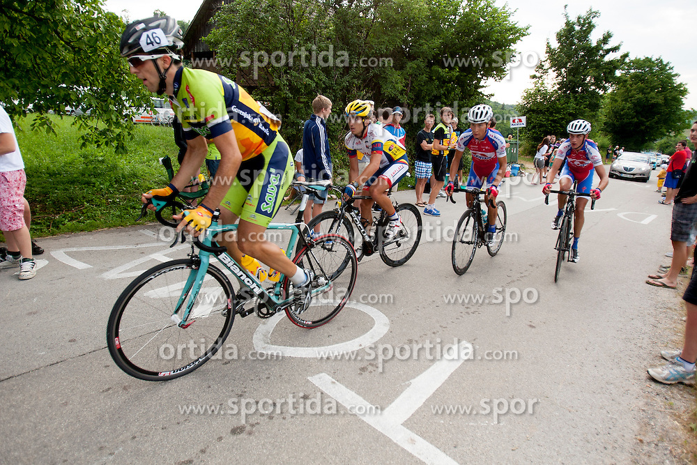 Mark Dzamastagic of Sava Kranj during Slovenian National Championship in Road Cycling, on June 23, 2013, in Gabrje, Slovenia. (Photo by Urban Urbanc / Sportida.com)