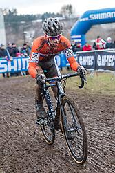 Lars van der Haar (NED), Men Elite, Cyclo-cross World Championship Tabor, Czech Republic, 1 February 2015, Photo by Pim Nijland / PelotonPhotos.com