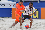IV Mundialito de Clubes de Beach Soccer - 09 a 13 DEZ - Rio de Janeiro/Brasil - Partida entre Fluminense (BRA) x Corinthians (BRA) - Foto: Marcello Zambrana/Divulgação