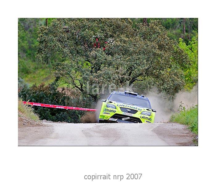 WRC PORTUGAL 2007 MIKKO HIRVONEN<br /> FORD FOCUS RS WRC 2006<br /> BP FORD WRT