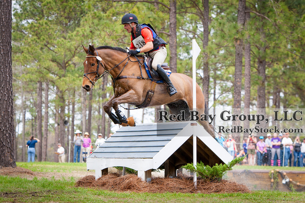 Peter Barry (CAN) and Kilrodan Abbott at the Carolina International in Raeford, North Carolina.