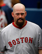 Boston first baseman Kevin Youkilis during the game between the Atlanta Braves and the Boston Red Sox at Turner Field in Atlanta, GA on June 19, 2007..