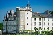 Chateau de Villandry, Villandry, Loire Valley, France