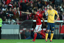 December 23, 2018 - Lisbon, Portugal - Benfica's Portuguese midfielder Pizzi celebrates after scoring a goal during the Portuguese League football match SL Benfica vs SC Braga at the Luz stadium in Lisbon on December 23, 2018. (Credit Image: © Pedro Fiuza/ZUMA Wire)