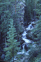 waterfall in the mountains of Colorado