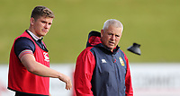 Rugby Union - 2017 British & Irish Lions Tour of New Zealand - Training Session <br /> <br /> Owen Farrell talks to Warren Gatland head coach during the British & Irish Lions training session, ahead of the match against The Blues, at the QBE Stadium, Auckland. <br /> <br /> COLORSPORT/LYNNE CAMERON
