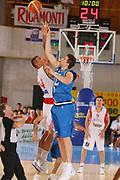 DESCRIZIONE : Bormio Torneo Internazionale Gianatti Italia Croazia <br /> GIOCATORE : Andrea Bargnani<br /> SQUADRA : Nazionale Italia Uomini <br /> EVENTO : Bormio Torneo Internazionale Gianatti <br /> GARA : Italia Croazia <br /> DATA : 01/08/2007 <br /> CATEGORIA : Rimbalzo<br /> SPORT : Pallacanestro <br /> AUTORE : Agenzia Ciamillo-Castoria/G.Ciamillo<br /> Galleria : Fip Nazionali 2007 <br /> Fotonotizia : Bormio Torneo Internazionale Gianatti Italia Croazia<br /> Predefinita :