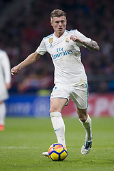 November 18, 2017 - Madrid, Madrid, Spain - Toni Kroos during the match between Atletico de Madrid and Real Madrid, week 12 of La Liga at Wanda Metropolitano stadium, Madrid, SPAIN - 18th November of 2017. (Credit Image: © Jose Breton/NurPhoto via ZUMA Press)