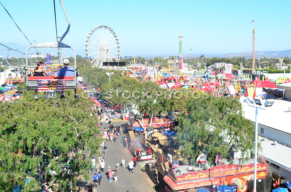 A View Of The OC Fair From The Gondola