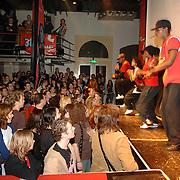 NLD/Amsterdam/20060312 - Uitreiking 3FM awards 2006, overzicht zaal melkweg