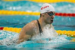 06-12-2008 ZWEMMEN: SWIMCUP: EINDHOVEN<br /> Lennart Stekelenburg wint de 200 meter schoolslag<br /> ©2008-WWW.FOTOHOOGENDOORN.NL