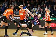 Tonje Løseth fra Herning-Ikast under semifinalen i HTH Dameligaen mellem Herning-Ikast Håndbold i IBF Arena, Ikast, Danmark, den 01.05.2019. Photo Credit: Allan Jensen/EVENTMEDIA.